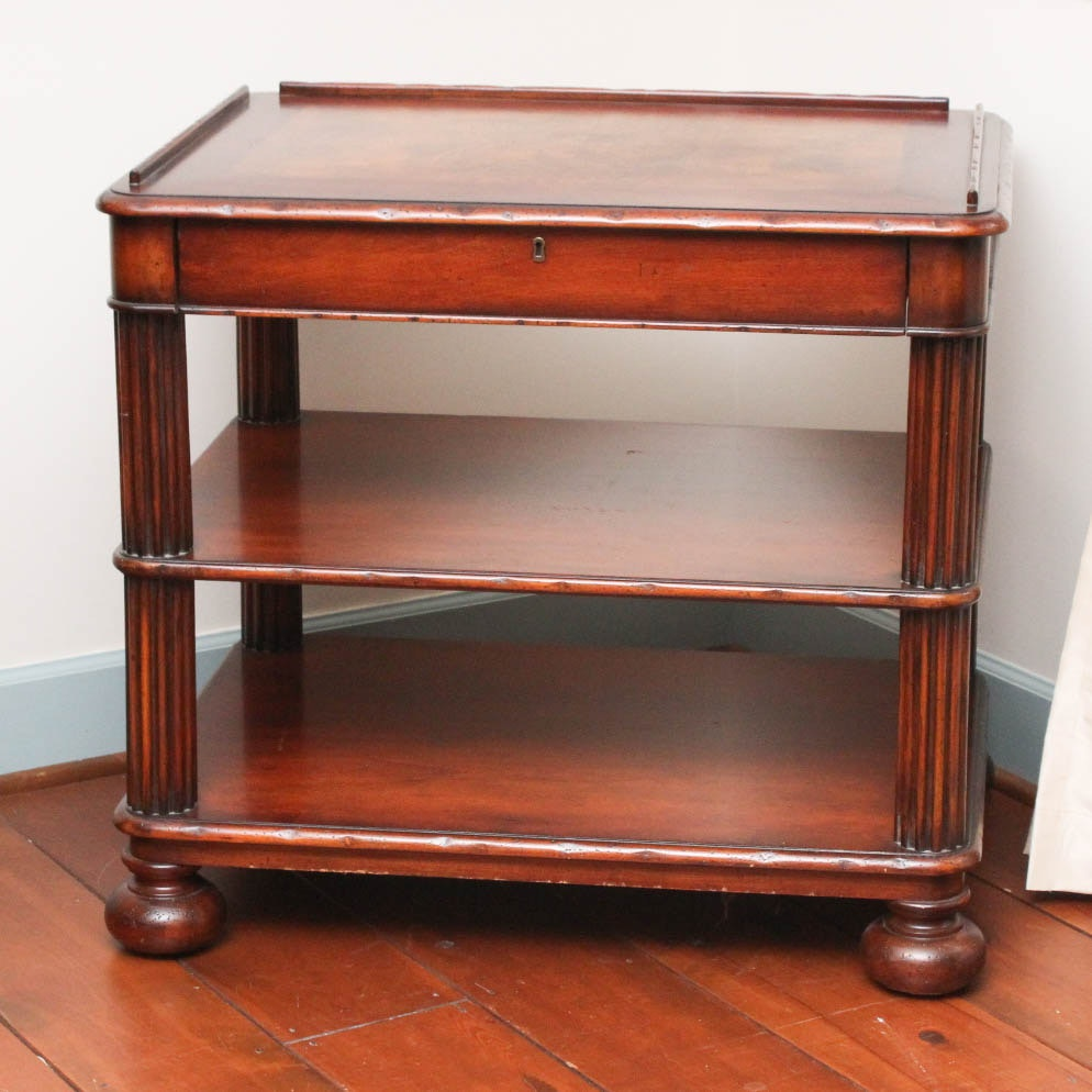 Console Table by Woodbridge Furniture