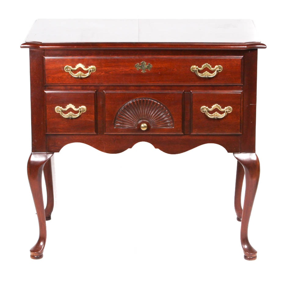 "Federal Style ""Lowboy"" Cherry Side Table by Thomasville Furniture"