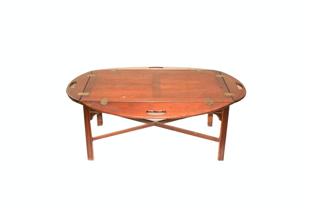Drop Leaf Style Coffee Table