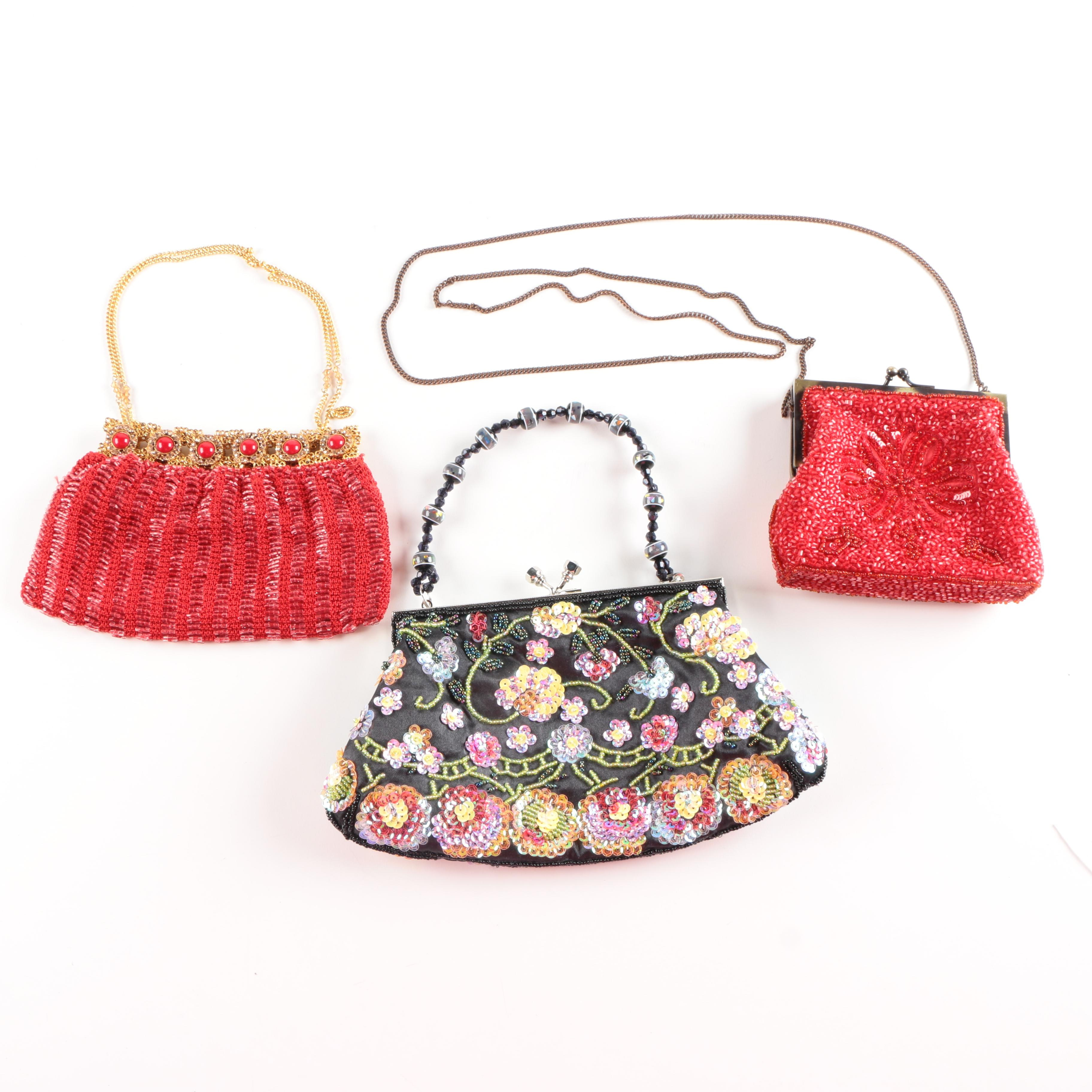 Beaded Evening Bags Including Clara Kasavina