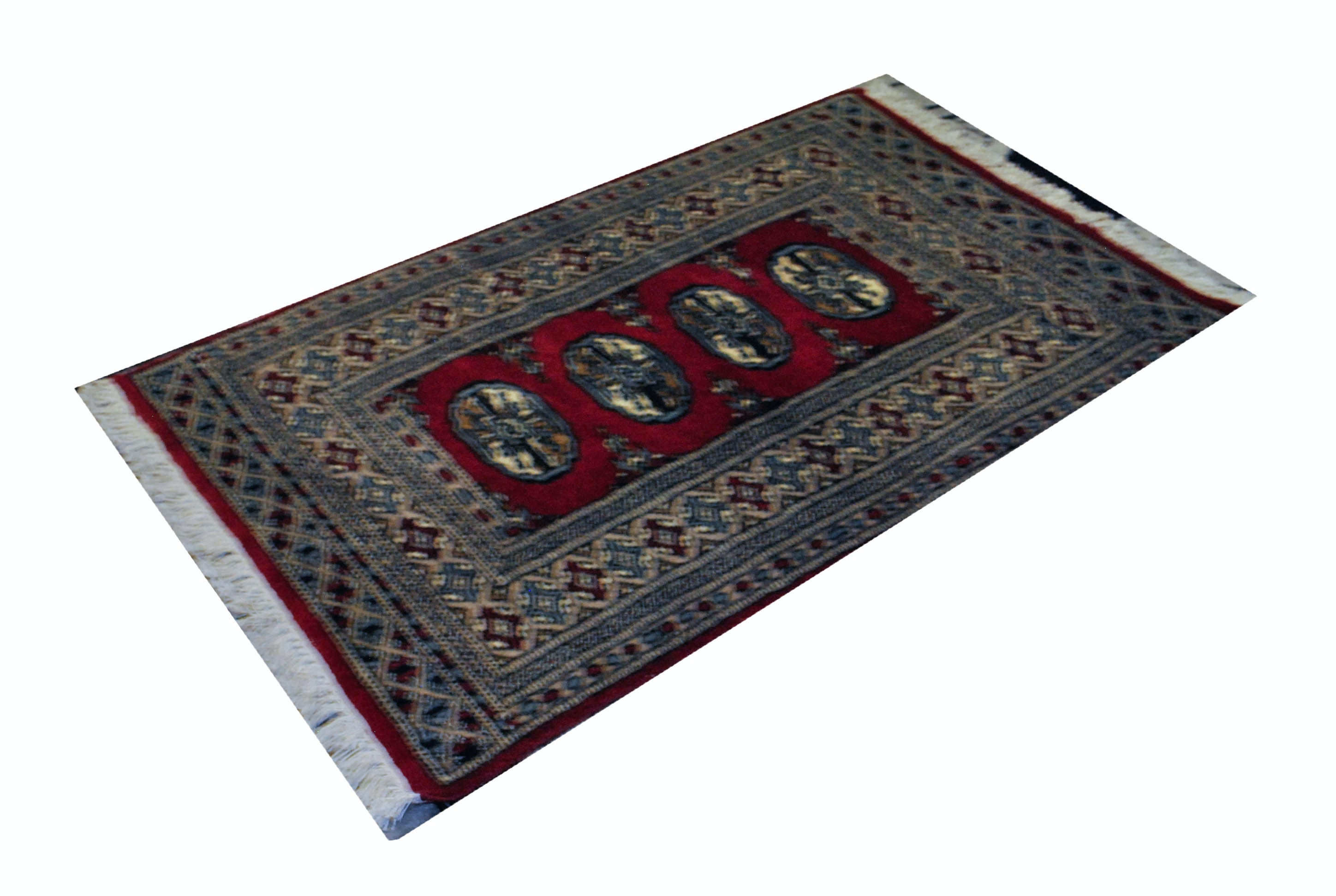 Bokhara Style Hand Woven Area Rug