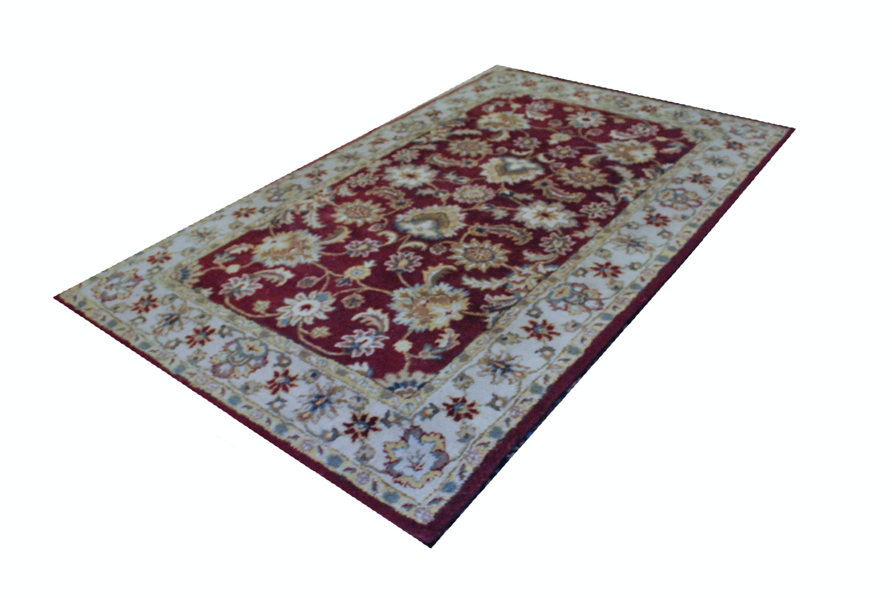 India House Collection Hand Tufted Wool Area Rug