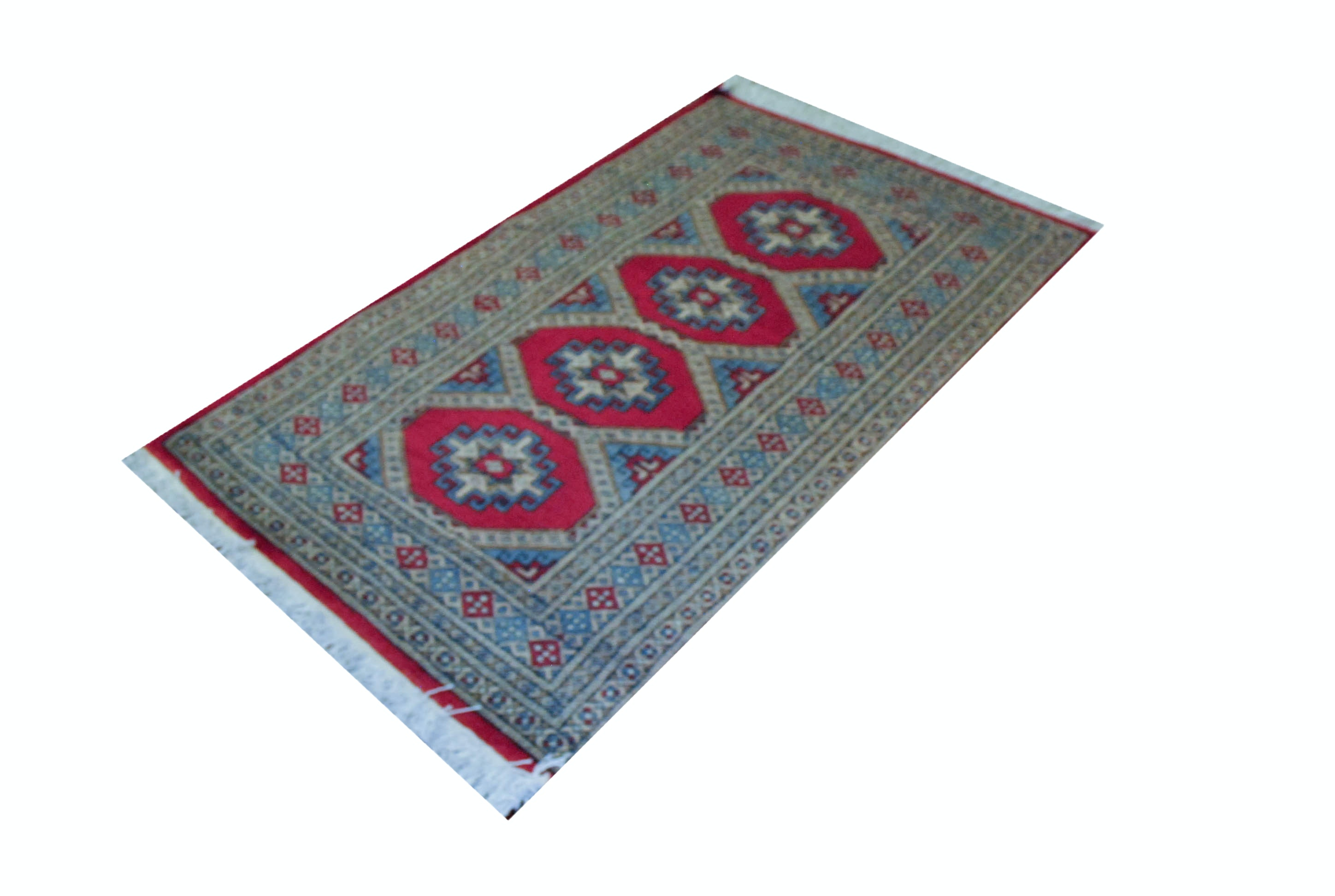 Persian Style Hand Knotted Area Rug