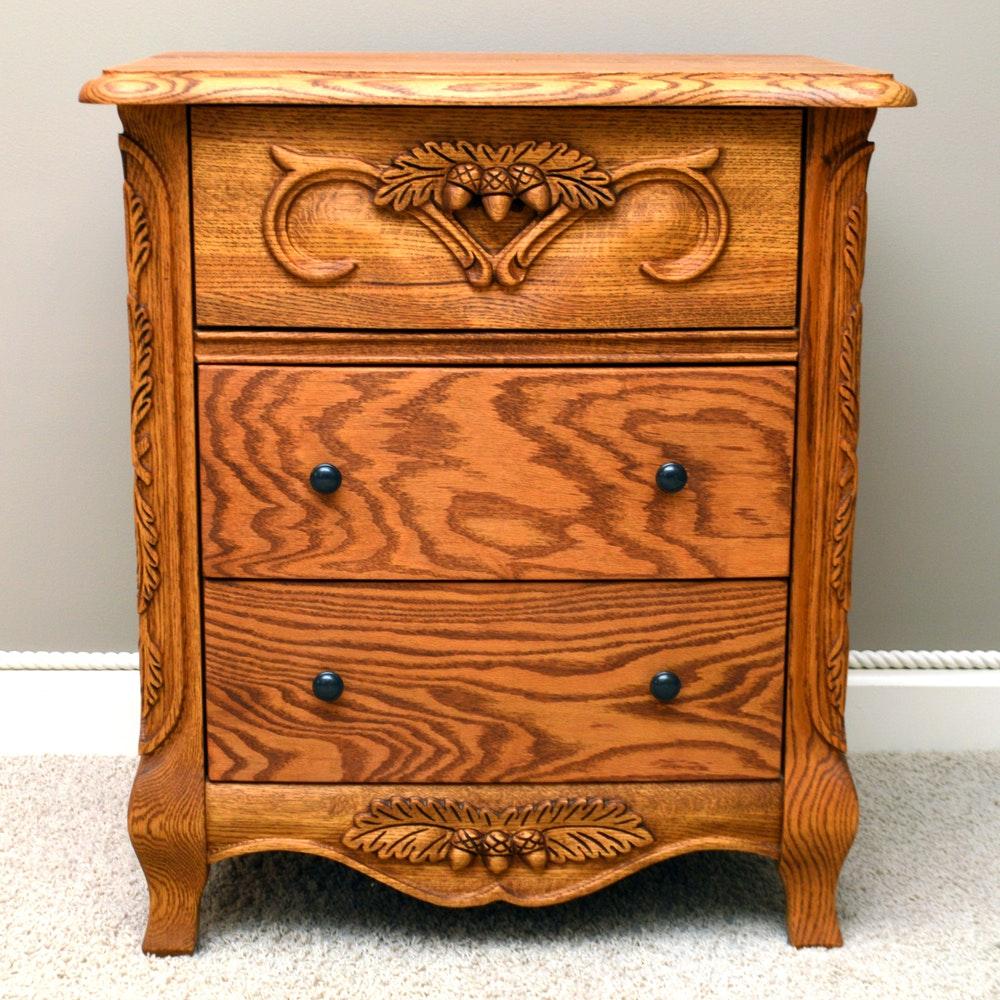 Oak Nightstand By Oakwood Interiors ...
