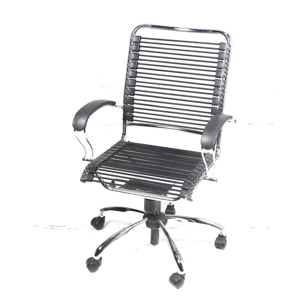 Chrome Bungee Desk Chair
