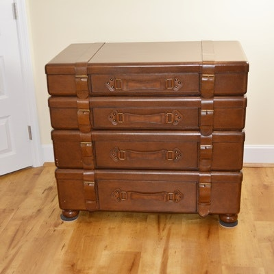 Lexington Furniture Stacked Luggage Chest