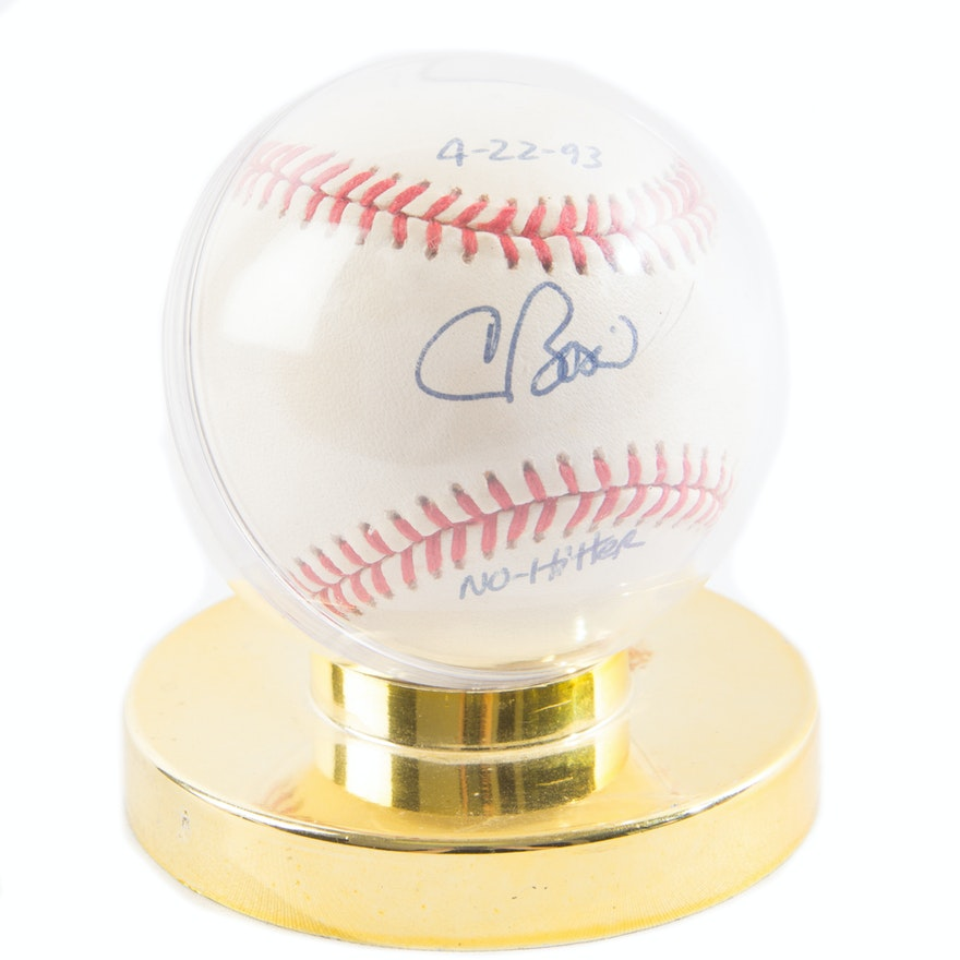 3a99c65673e Signed Chris Bosio Baseball   EBTH