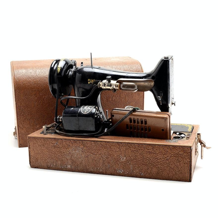 Vintage BelAir Bantam Sewing Machine EBTH Awesome Belair Sewing Machine