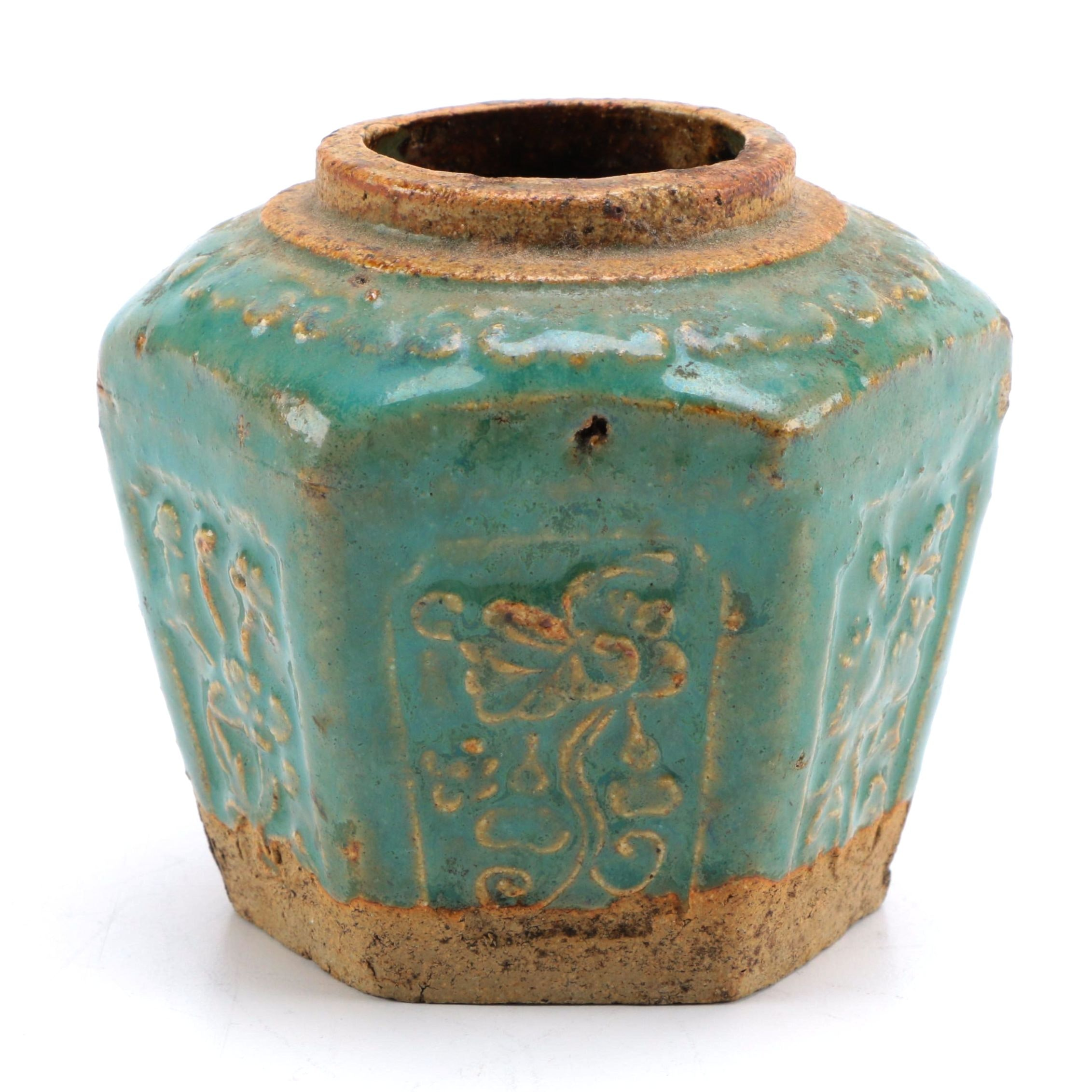 Chinese Qing Dynasty Stoneware Wine Vessel
