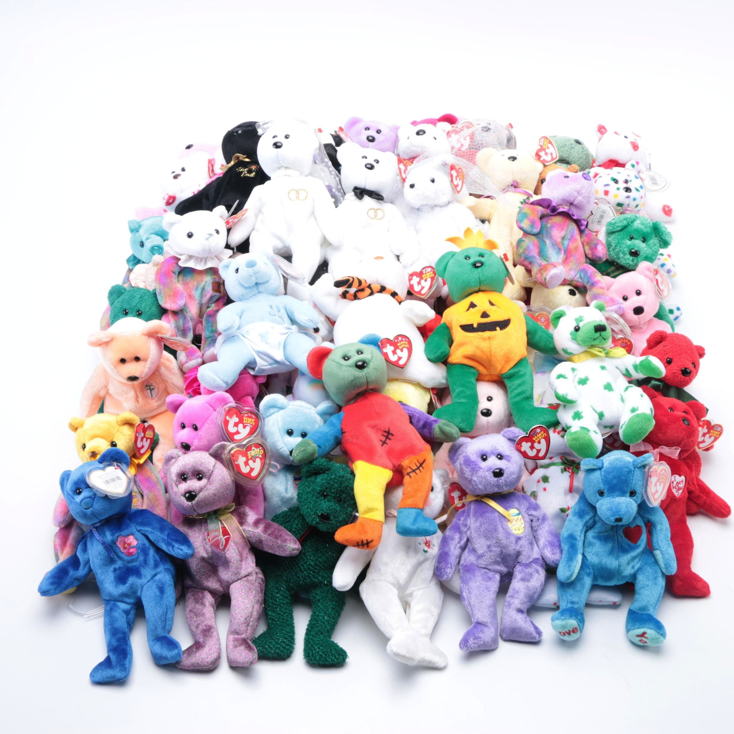 Holiday and Seasonal Themed Beanie Baby Collection
