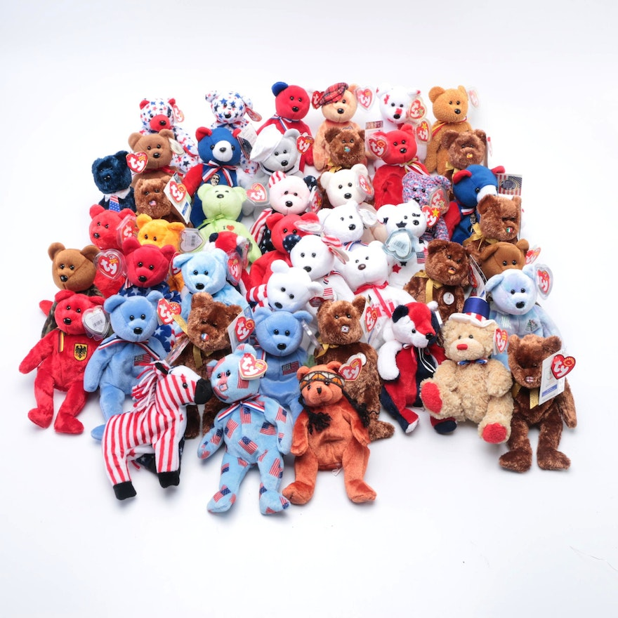 International Themed Beanie Babies Collection
