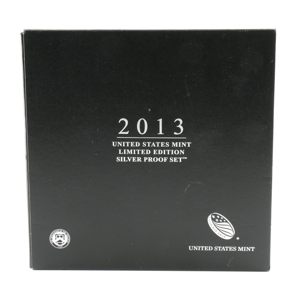 2013 United States Mint Limited Edition Silver Proof Set