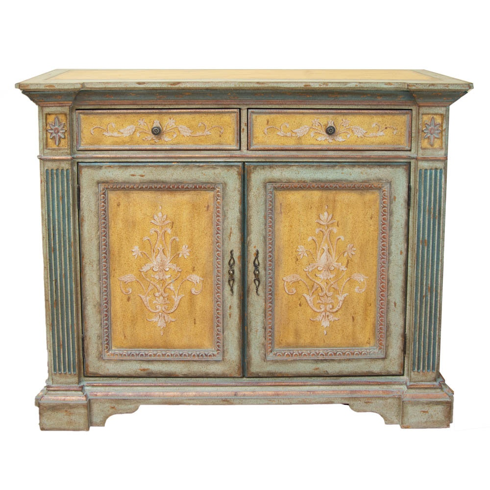 Shabby Chic Pine Sideboard by Robb & Stucky
