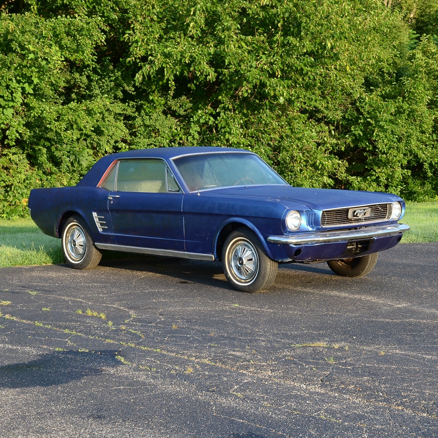 1966 Ford Mustang Restoration Project Car : EBTH