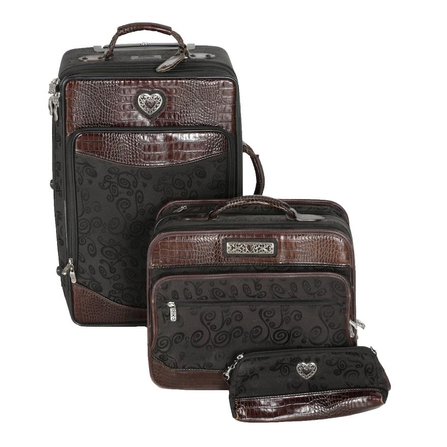 278a40bd83b6 Brighton Three-Piece Carry-On Luggage Set   EBTH
