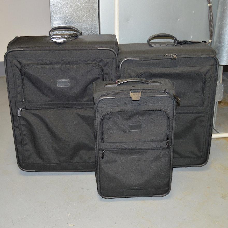 62443dab9034 Three-Piece Tumi Luggage Set   EBTH