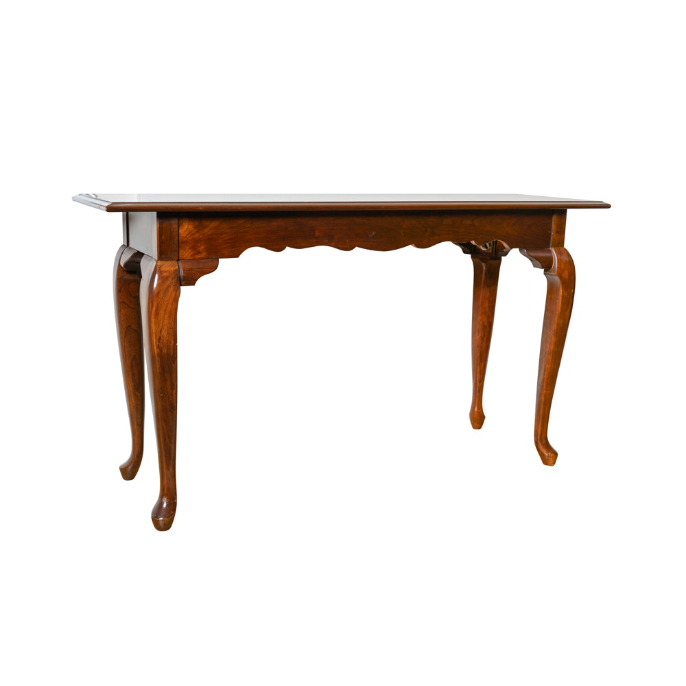 Queen Anne Style Sofa Table