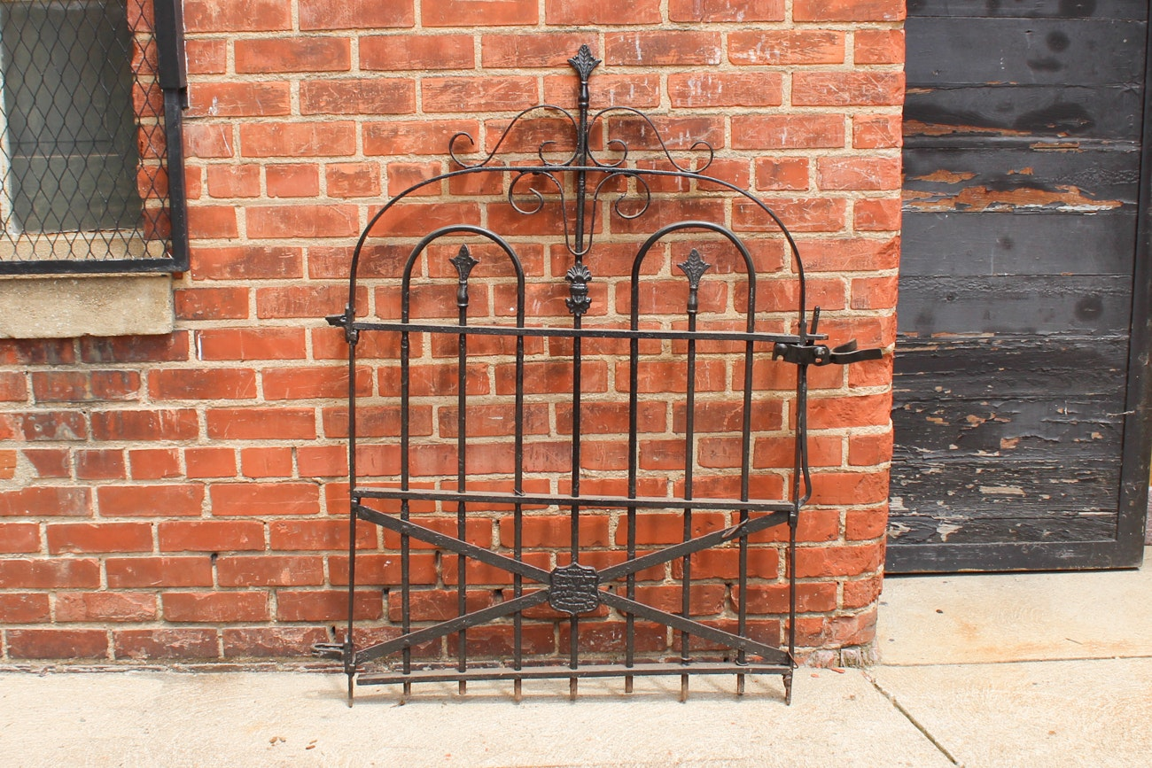 Stewart Ironworks Wrought Iron Gate
