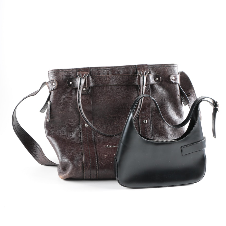 Salvatore Ferragamo Leather Shoulder Bag and Tote   EBTH 8b3ce8605ecd1