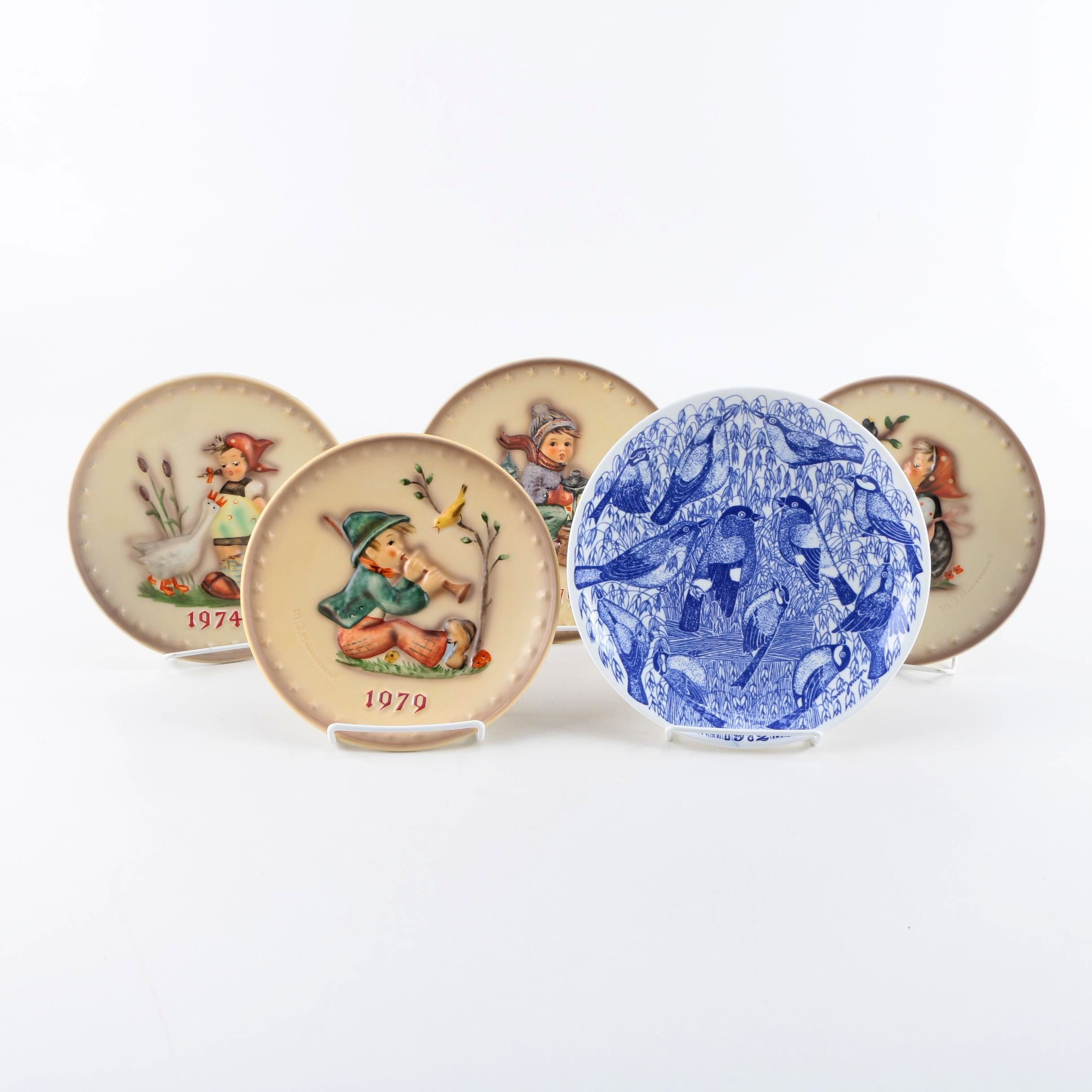 M.J. Hummel Collectible Plate With Gustavsberg
