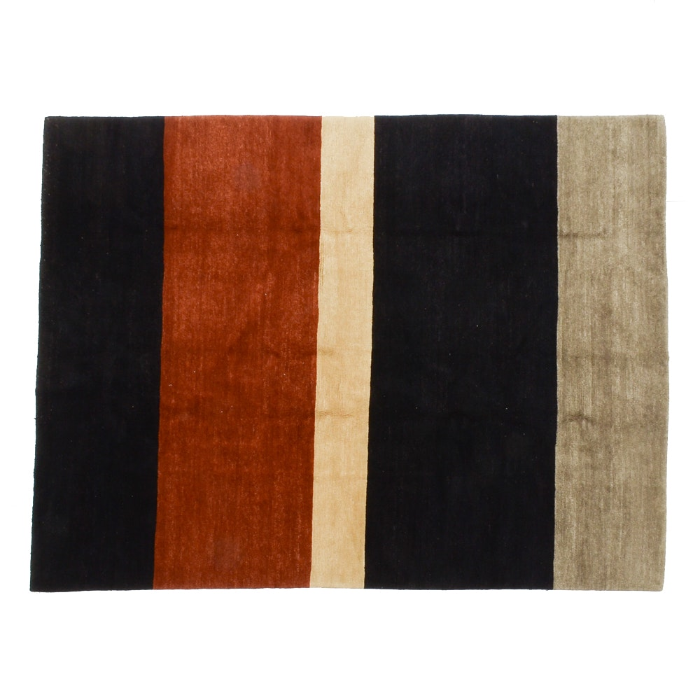 Tufenkian Hand-Knotted Contemporary Wool Area Rug