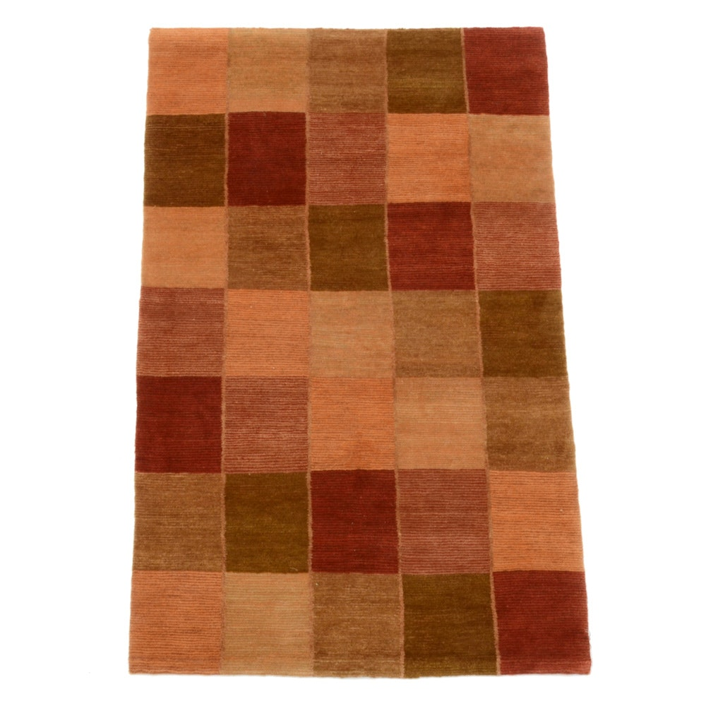 """Tufenkian Hand-Knotted """"Chimera Embers"""" Contemporary Area Rug"""