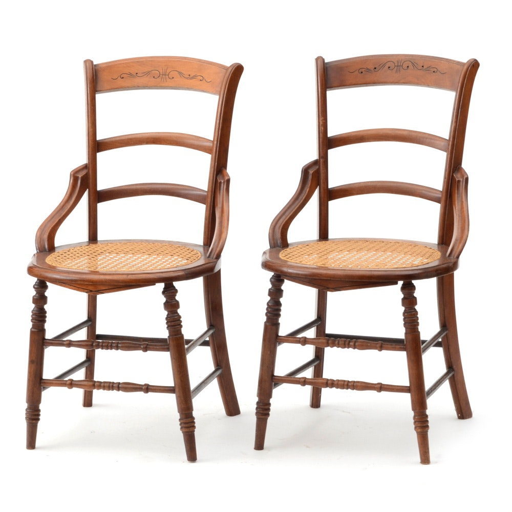 Victorian Eastlake Side Chairs