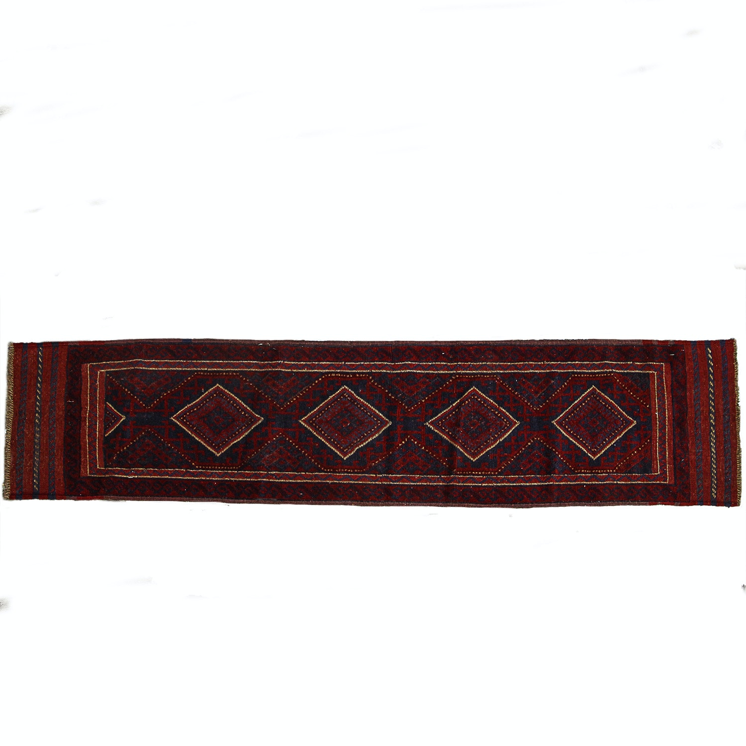 Hand Knotted  Baluch Runner Rug