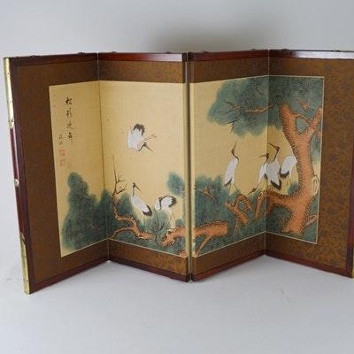 Small Chinese Folding Screen
