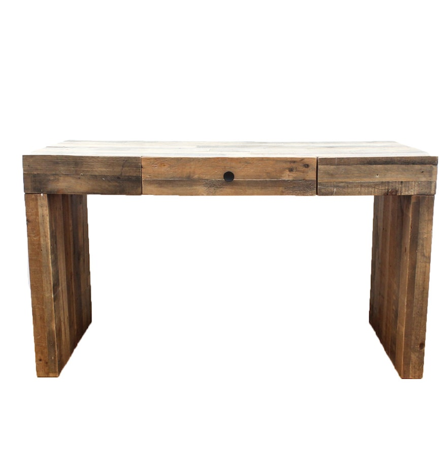 Reclaimed wood console table by west elm ebth reclaimed wood console table by west elm geotapseo Image collections