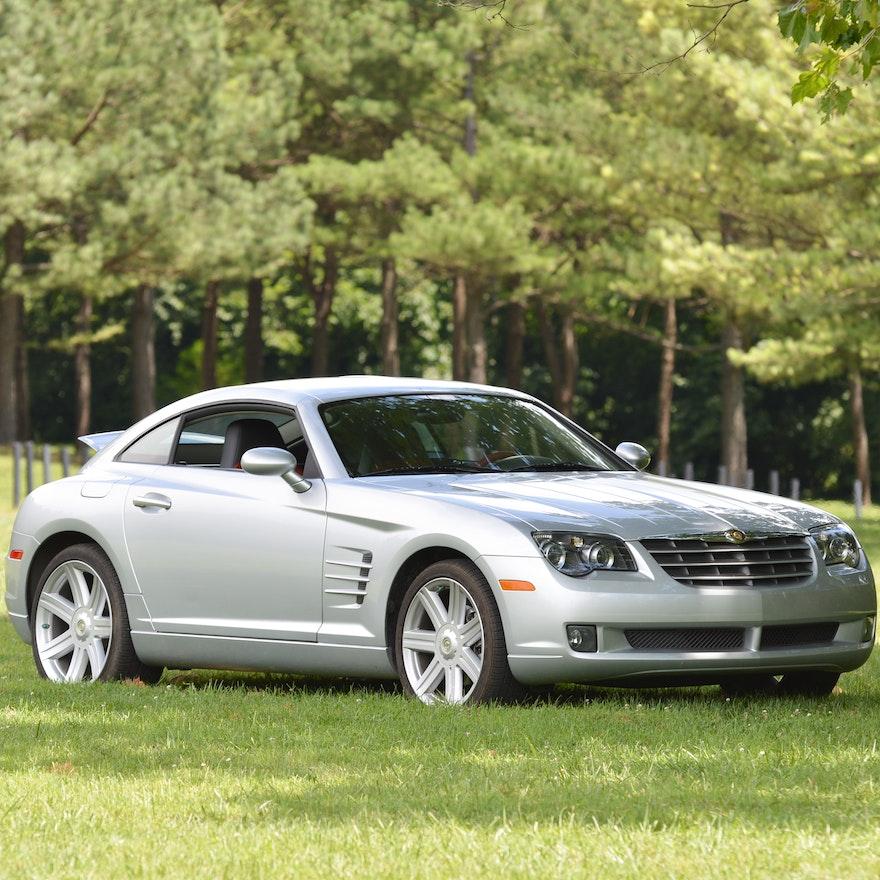 2007 Chrysler Crossfire Sports Car : EBTH