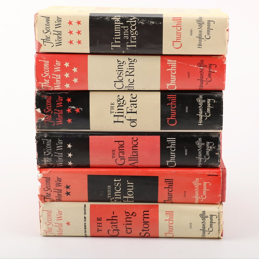 "Winston Churchill ""The Second World War"" in Six Volumes"