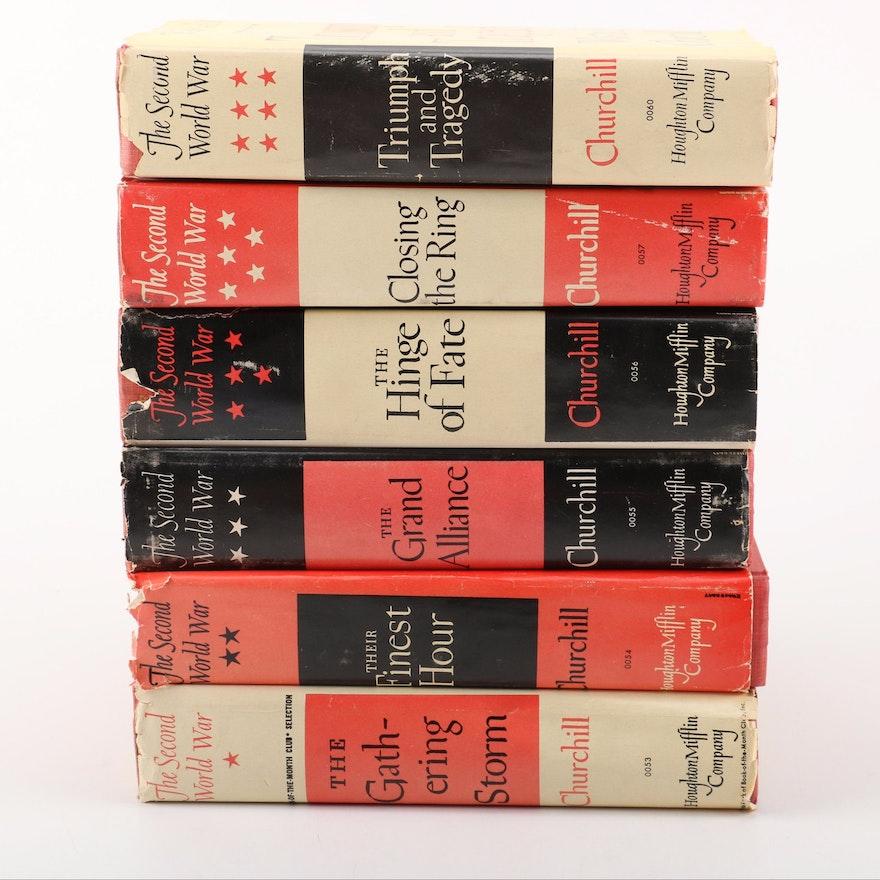 "Winston Churchill ""The Second World War"" in Six Volumes"