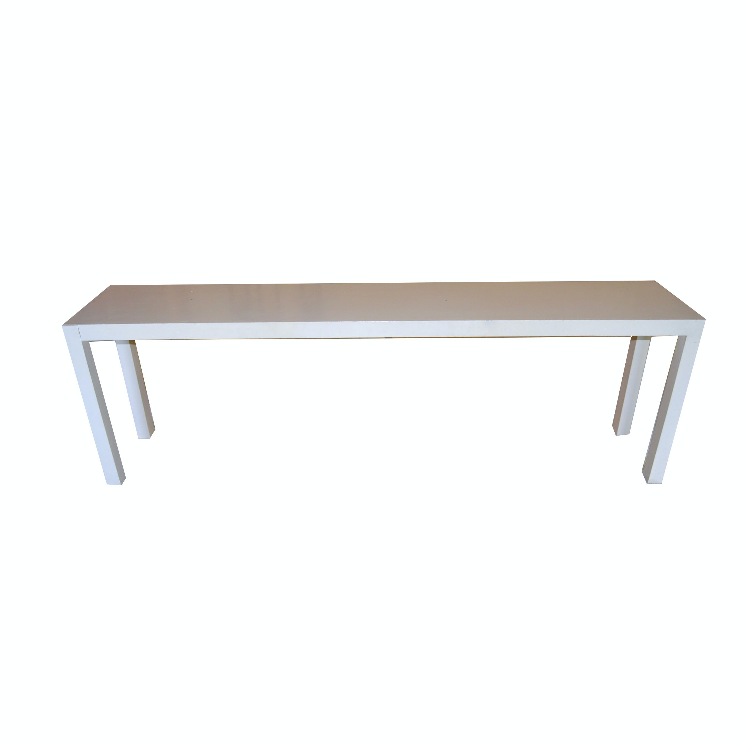 Superb Contemporary Parsons Style Console Table ...