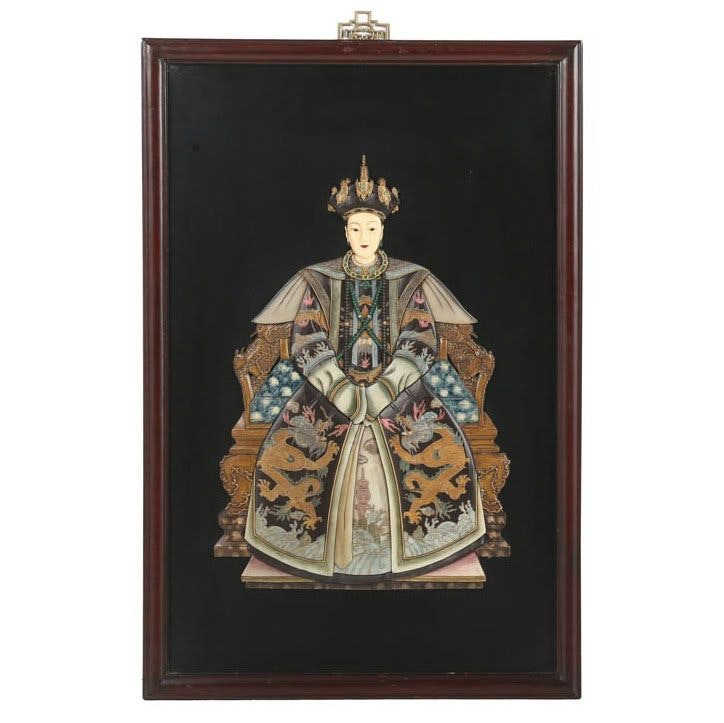 Chinese Empress Resin Portrait