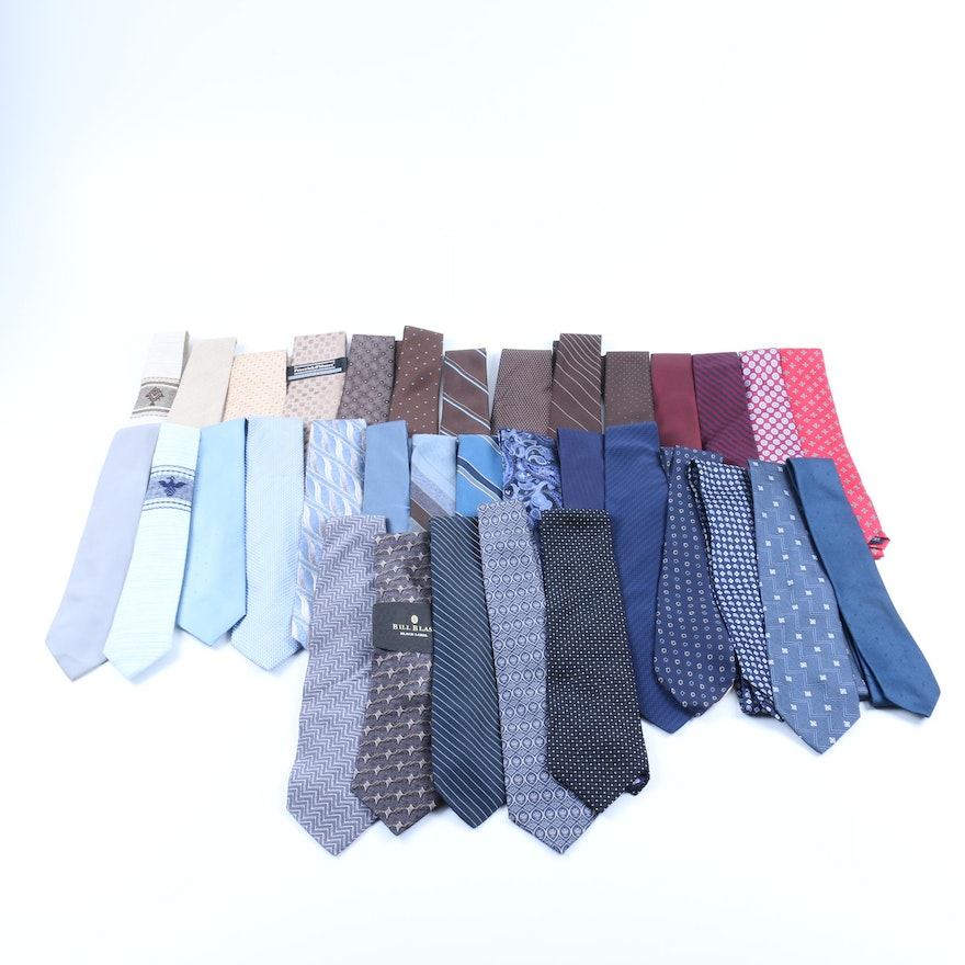 bd39715ac230 Assorted Ties Including Christian Dior, Brooks Brothers, Yves St. Laurent :  EBTH
