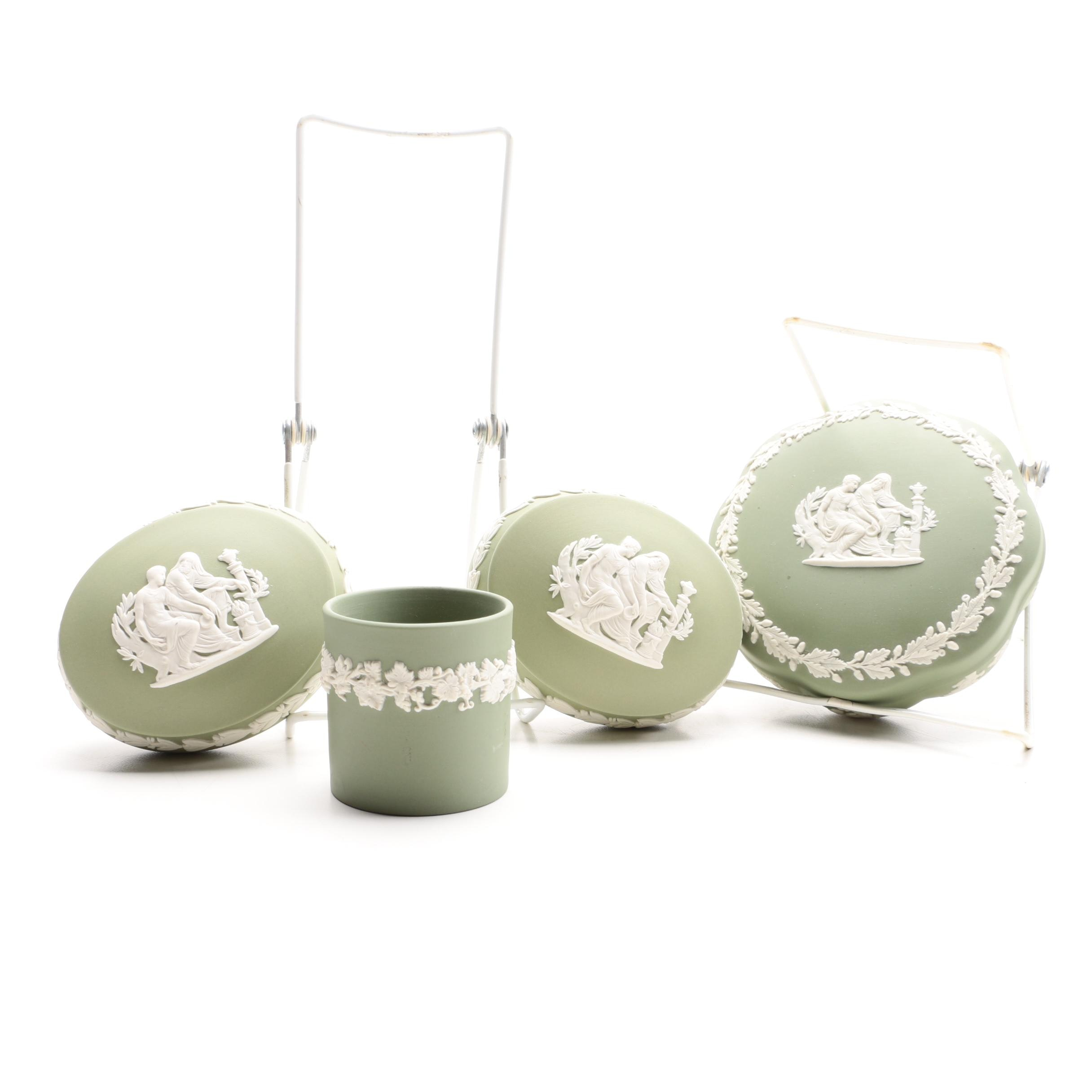 Wedgwood Celadon Jasperware