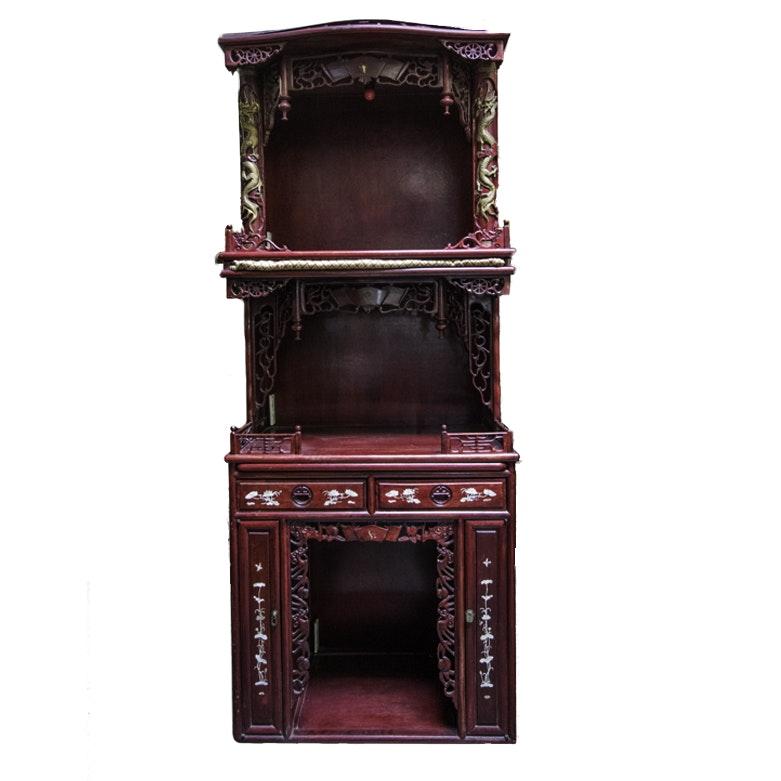 Ornate Chinese-Inspired Altar