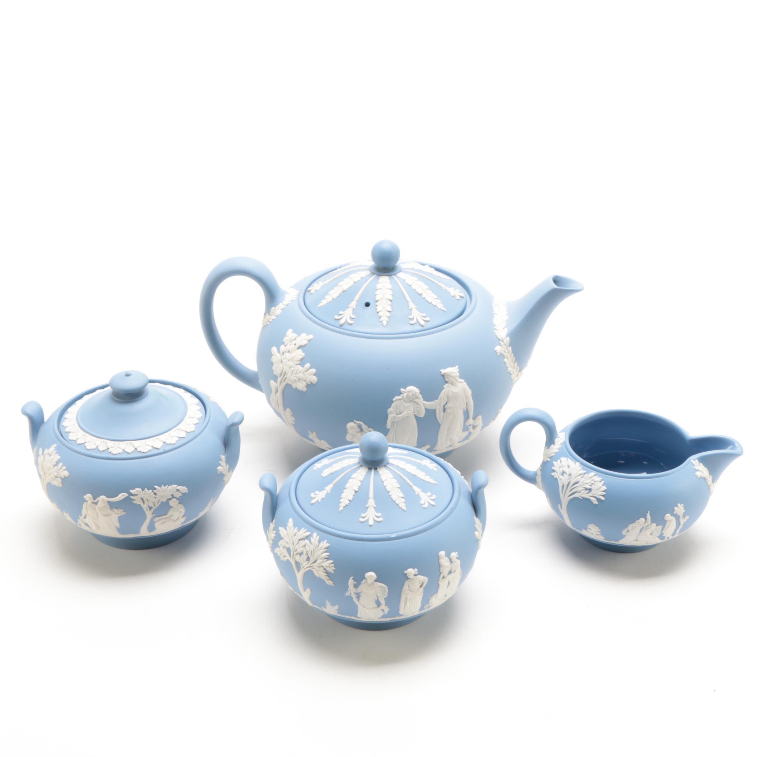 Wedgewood Jasperware Tea Set