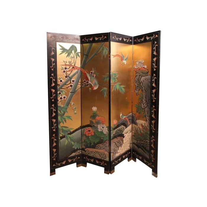 Asian Inspired Room Divider