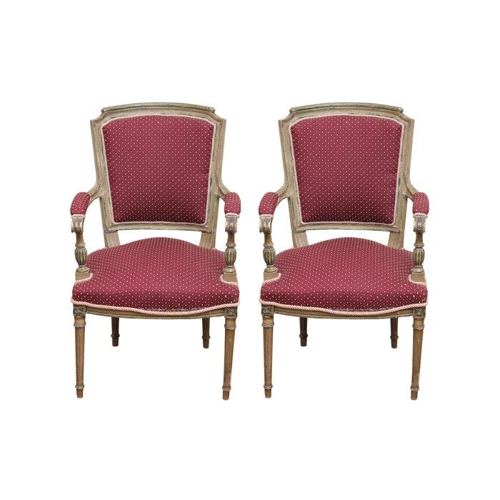 Vintage Louis XVI Style Chairs