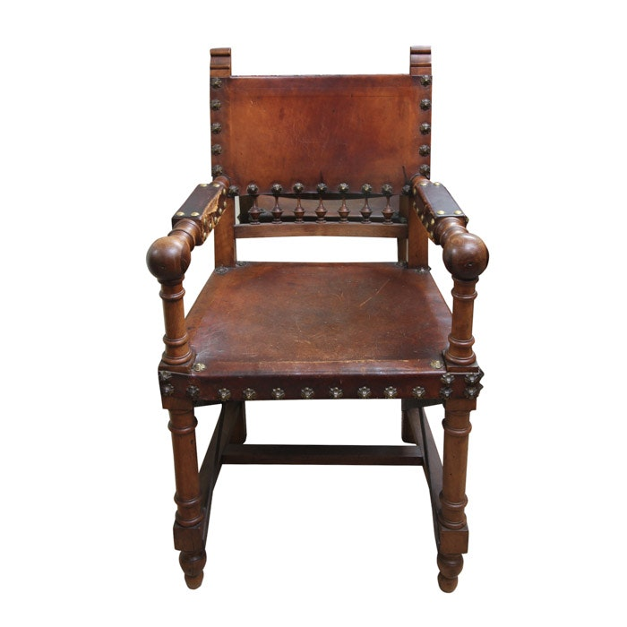Medieval Style Arm Chair