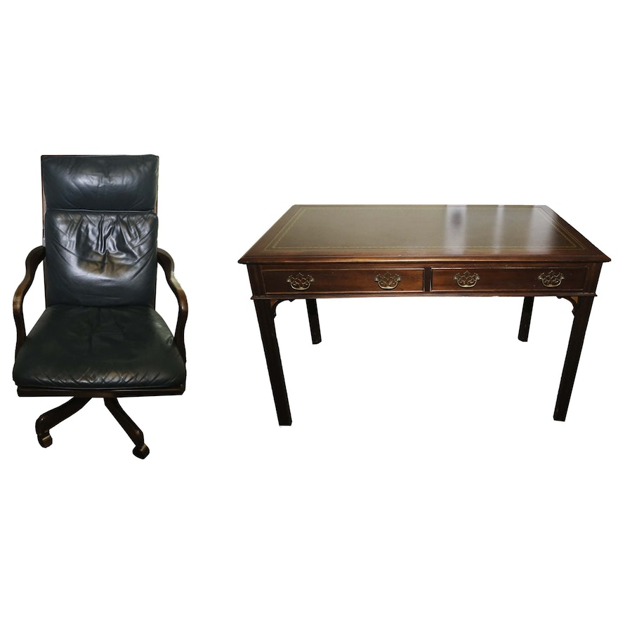 kidney orleans executive product office desk x new hekman traditional zm