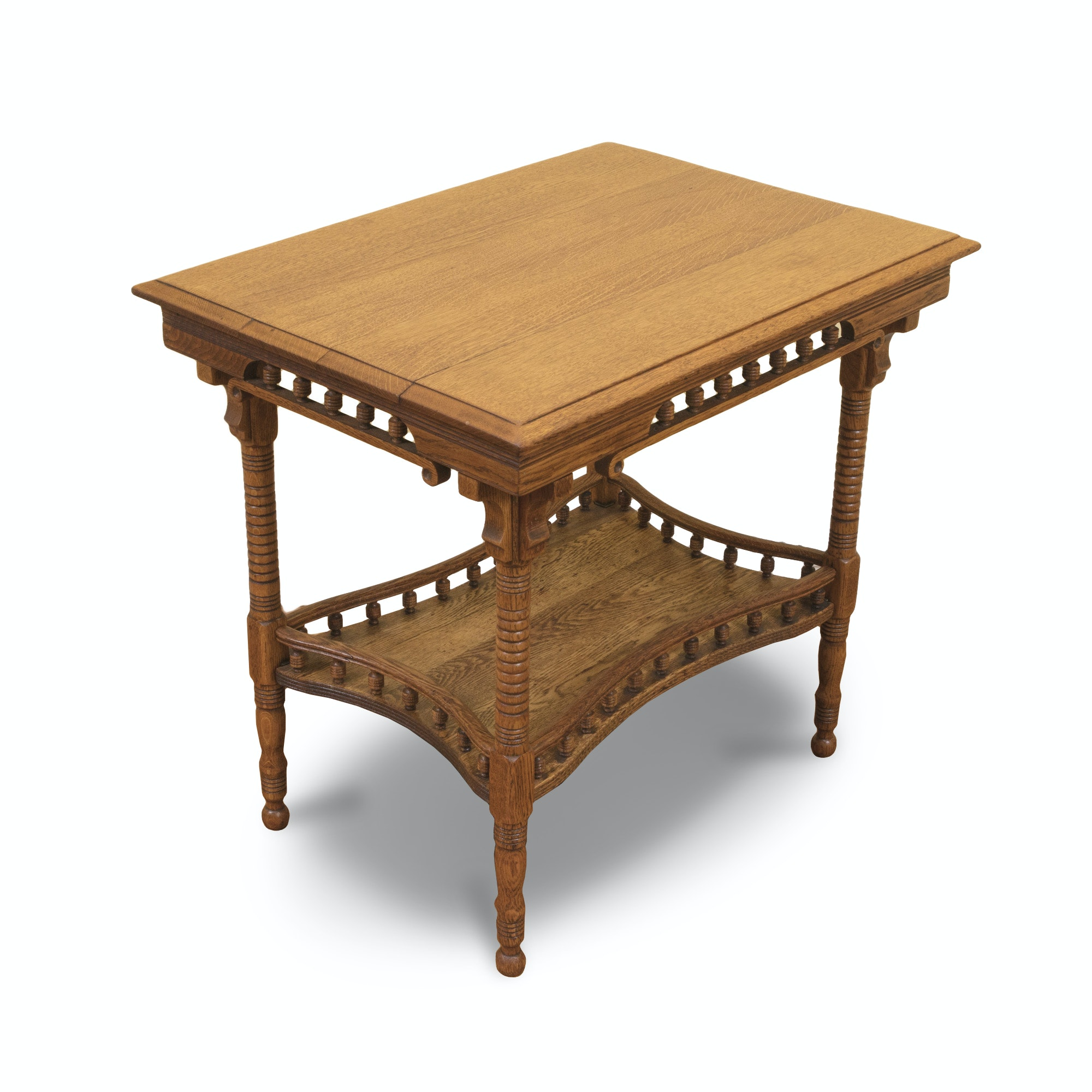 Arts and Crafts Style Oak Accent Table