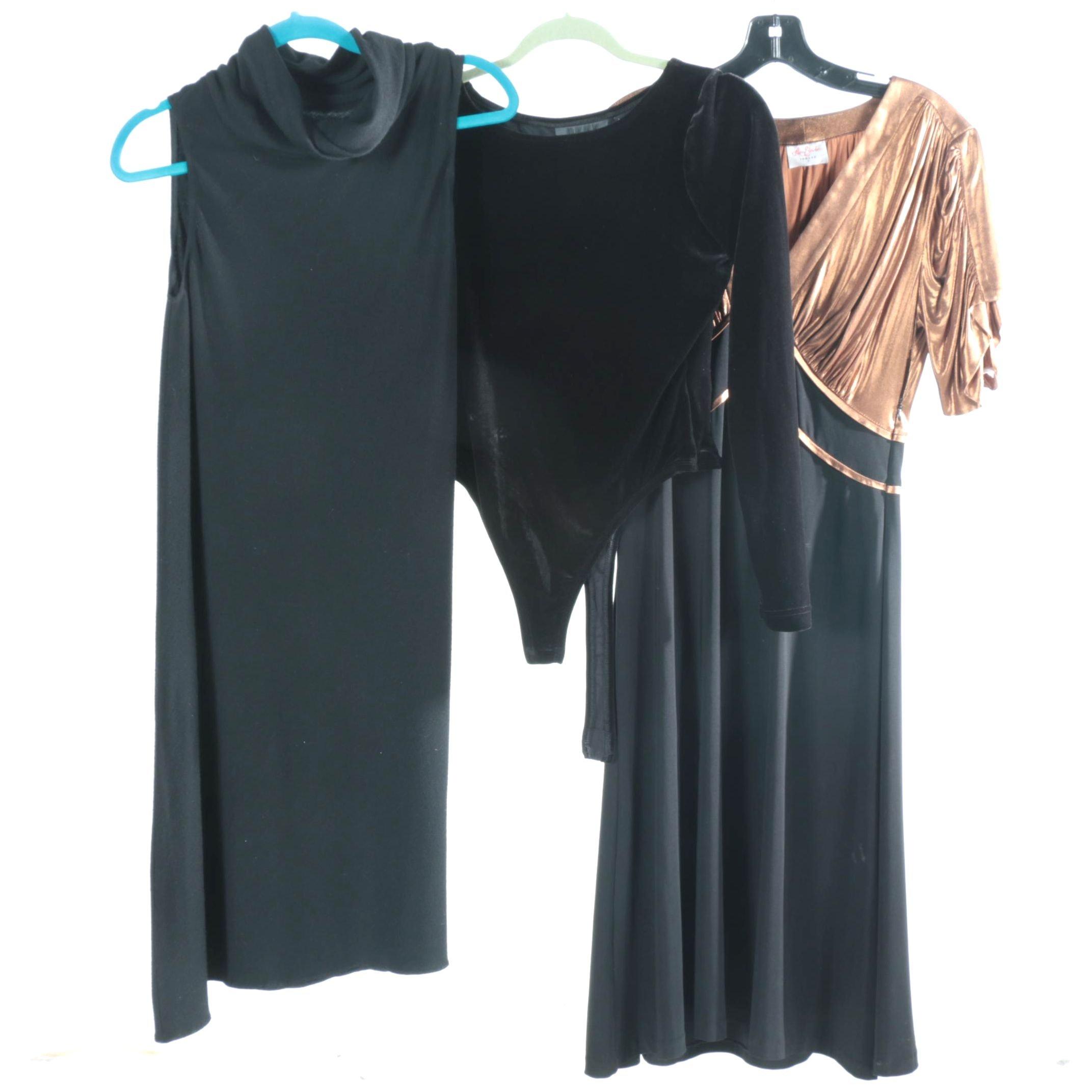 Dresses and DKNY Bodysuit Including Leona Edmiston
