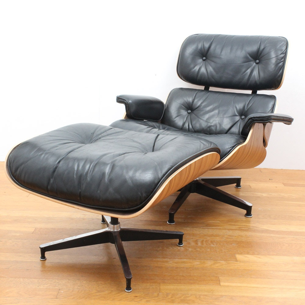 Eames For Herman Miller Lounge Chair And Ottoman ...