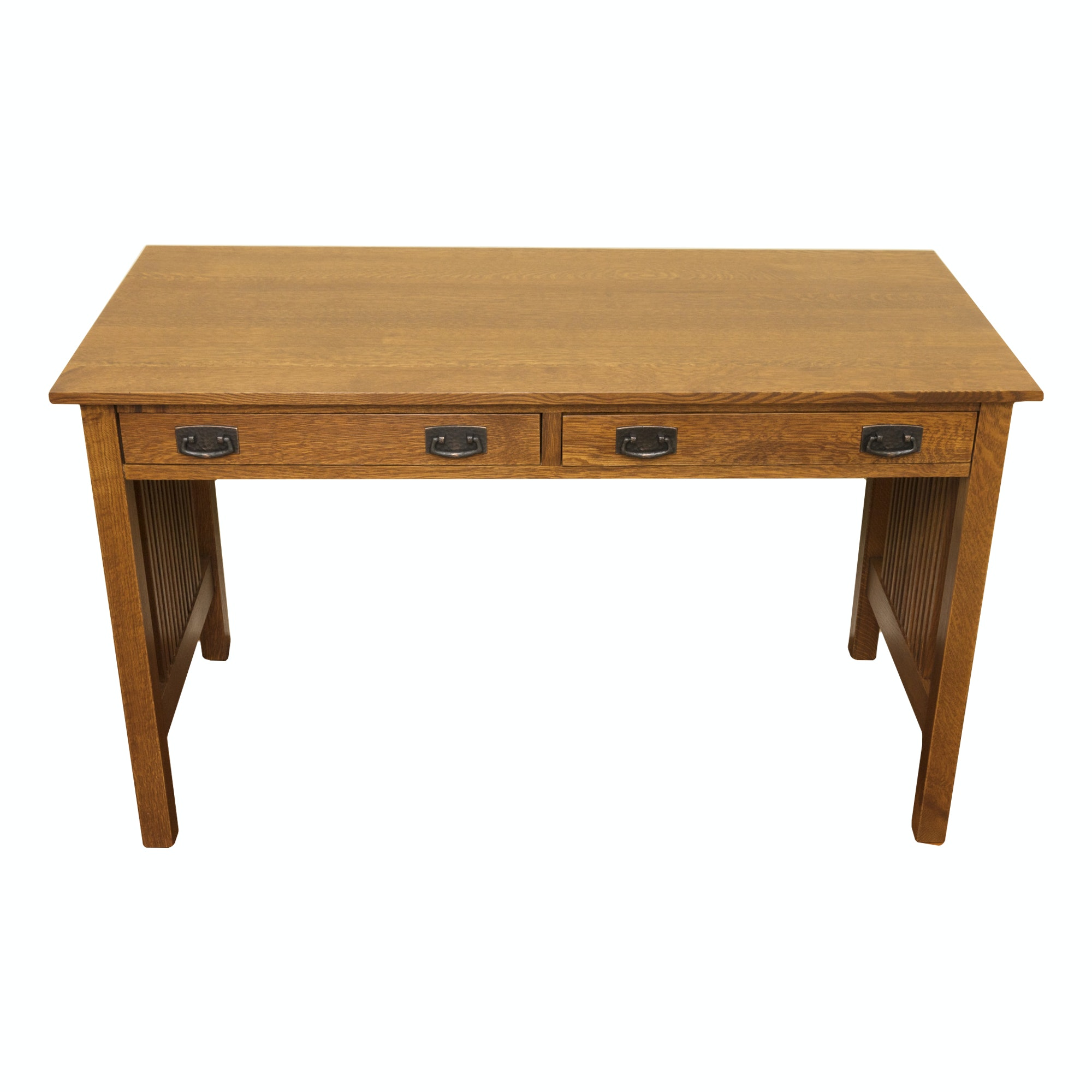 Mission Style Library Desk by Stickley