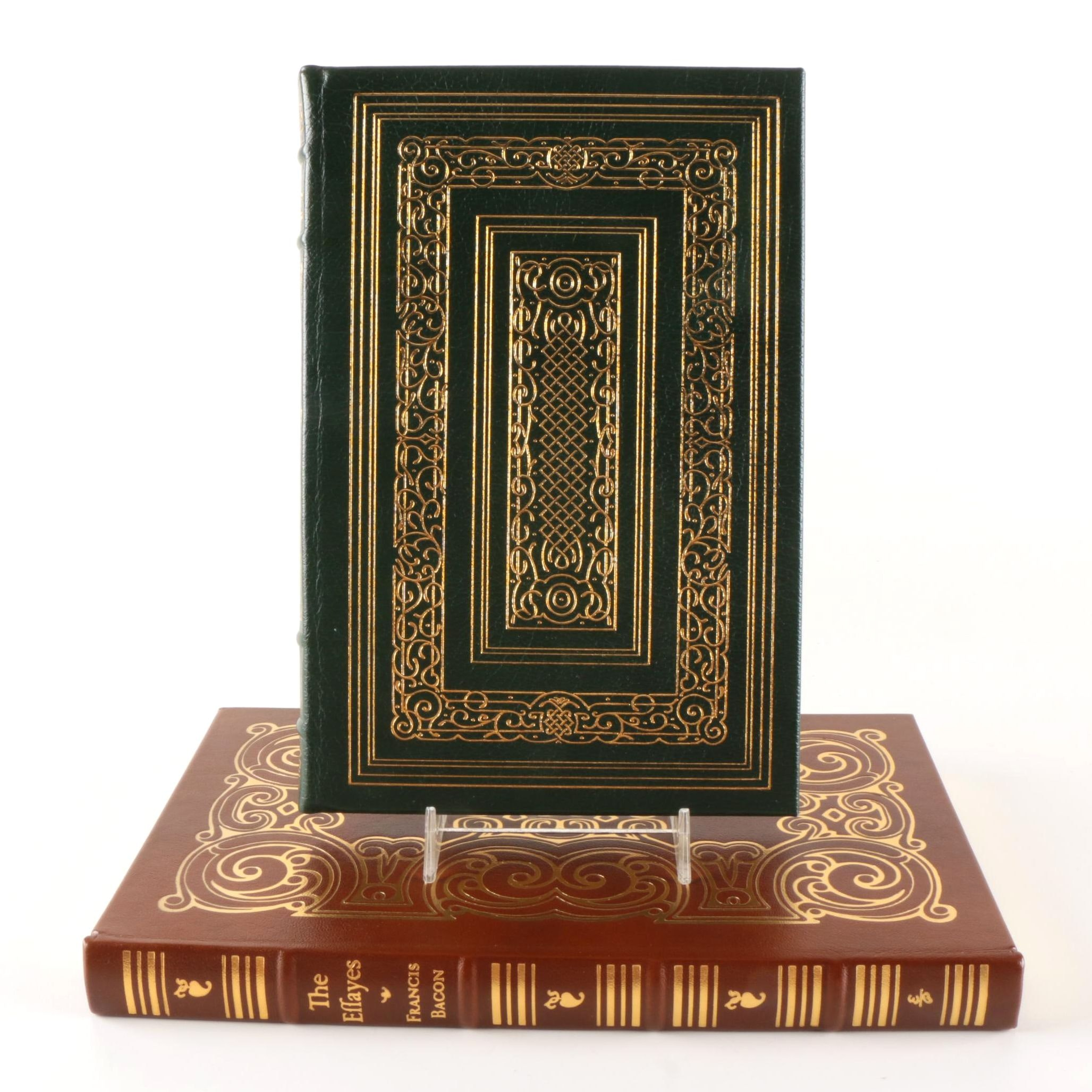 "Easton Press Leatherbound Collector's Editions Including ""The Pilgrim's Progress"" Illustrated by William Blake"