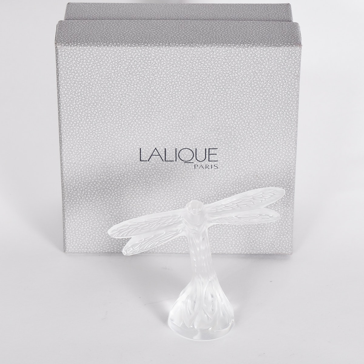 Lalique Crystal Dragonfly Figurine