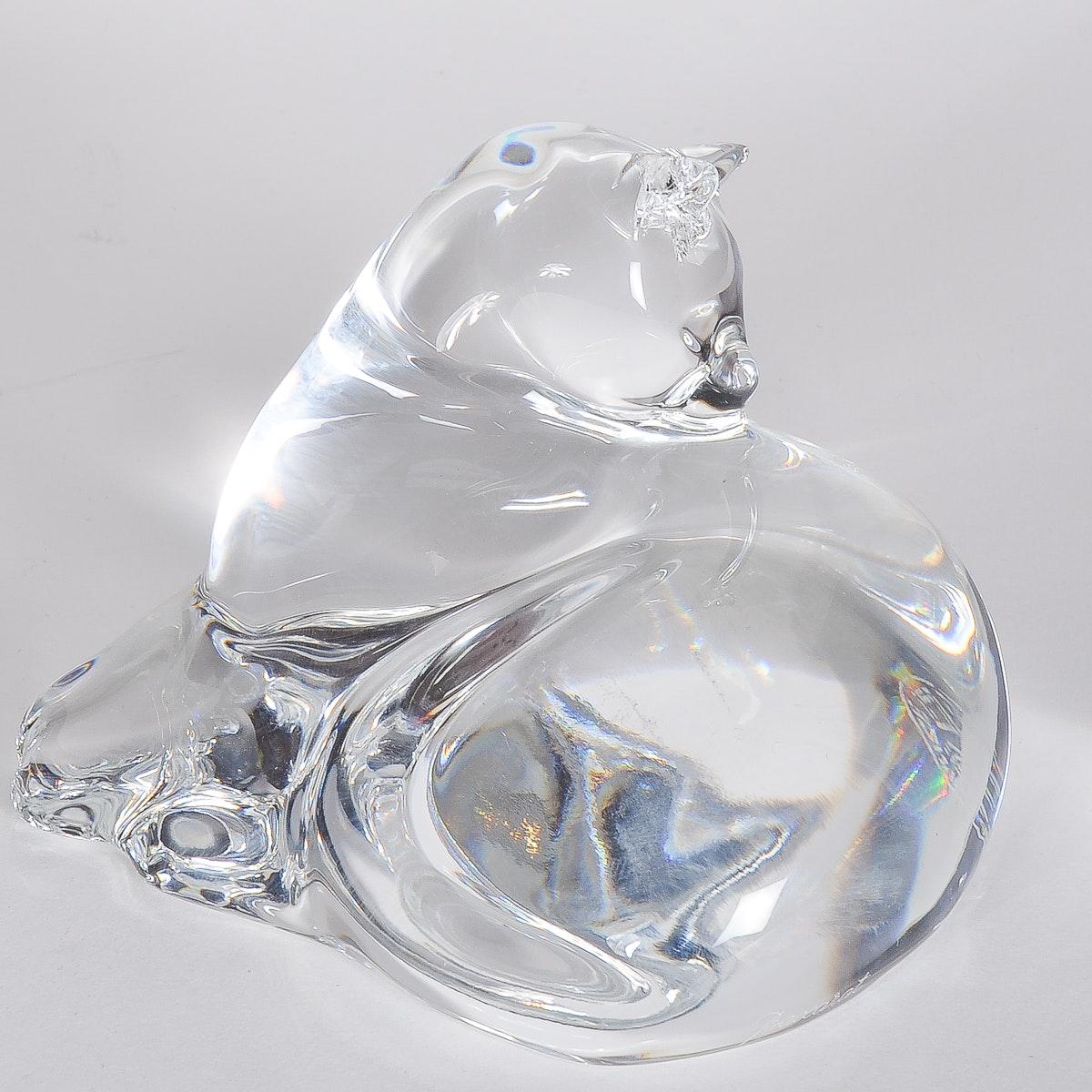 Baccarat Crystal Cat